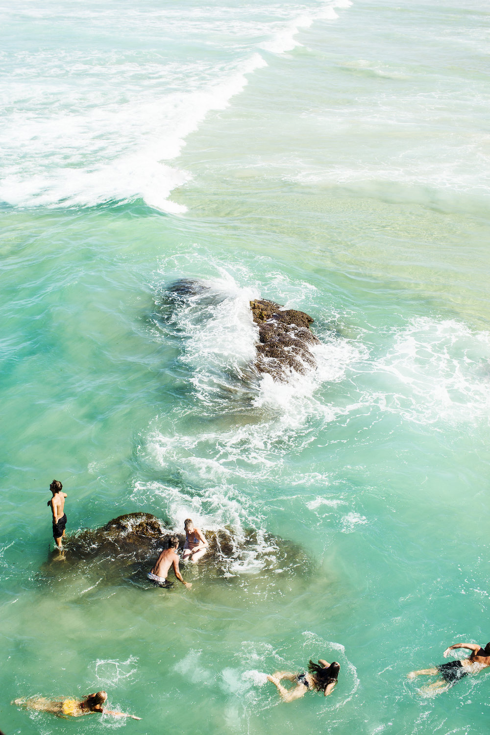 Frolic  from  Kara Rosenlund's  latest photographic collection,  Into the Sea .