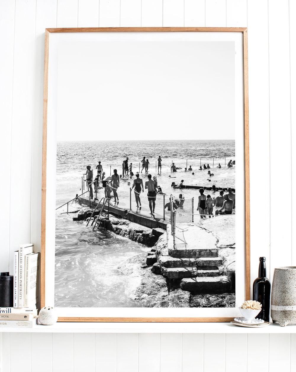 Bronte Seabath photographic print by Kara Rosenlund.