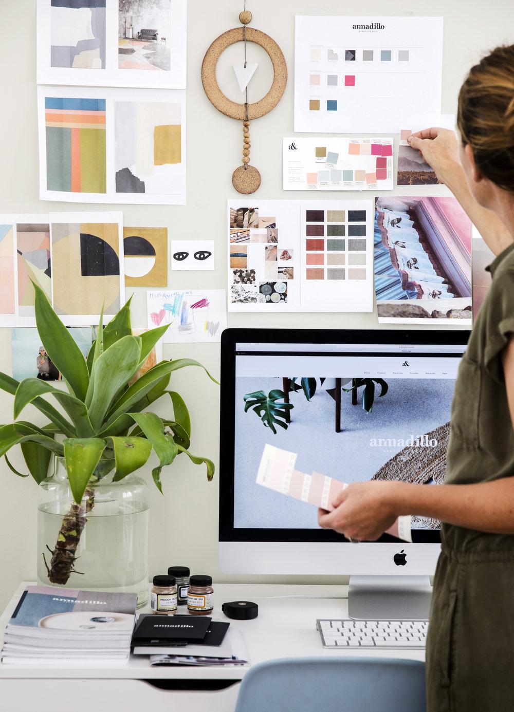 Jodie Fried in her Los Angeles studio.