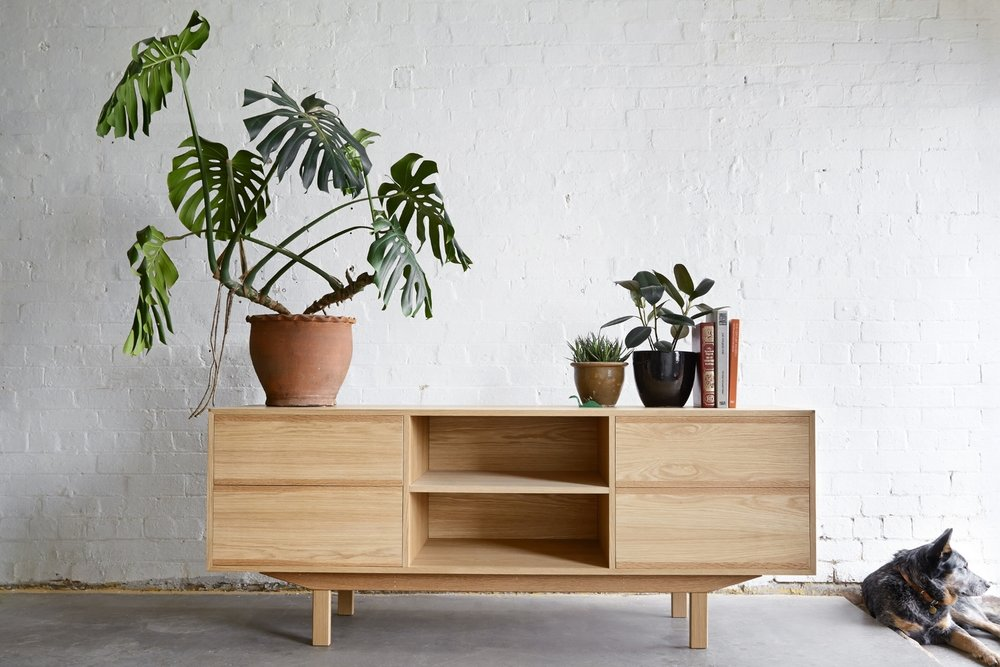 The  Made by Morgen  American Oak Veneer Sideboard.
