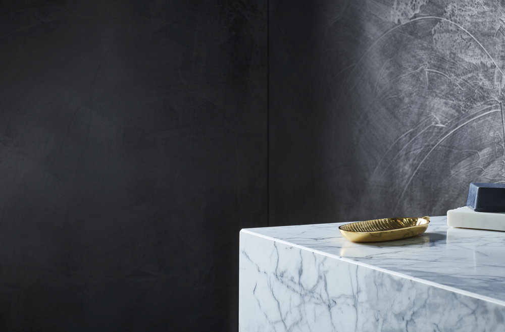 Dulux Concrete Effect in Onyx Edge by Bree Leech & Heather Nette King for  Dulux Design Effects Collection . Photo - Mike Baker.