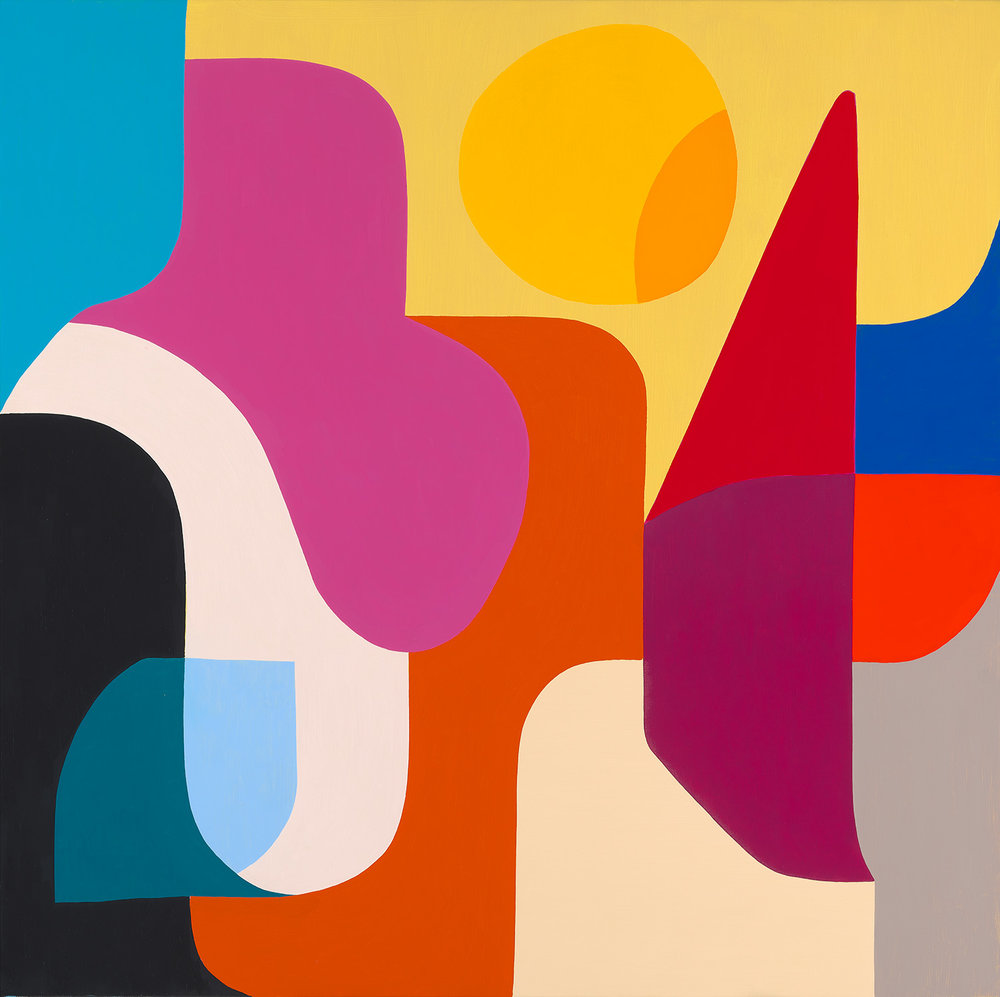 Sunny for Days - O il on linen by Stephen Ormandy.