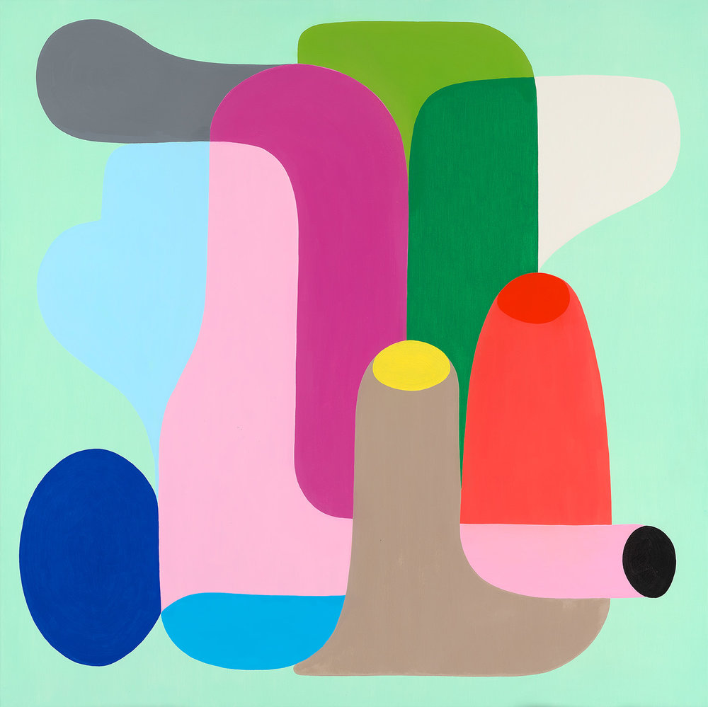 Afternoon Delight -O il on linen by Stephen Ormandy.