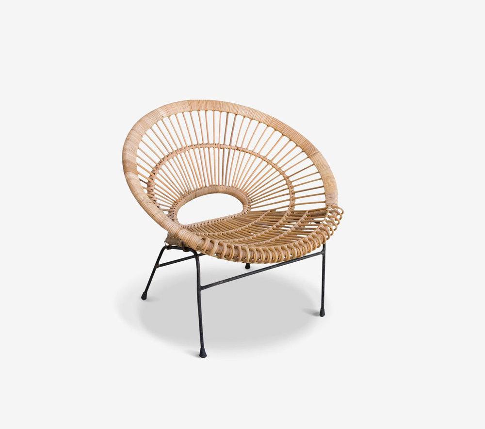 2 |   Safari Chair  from  MCM House .