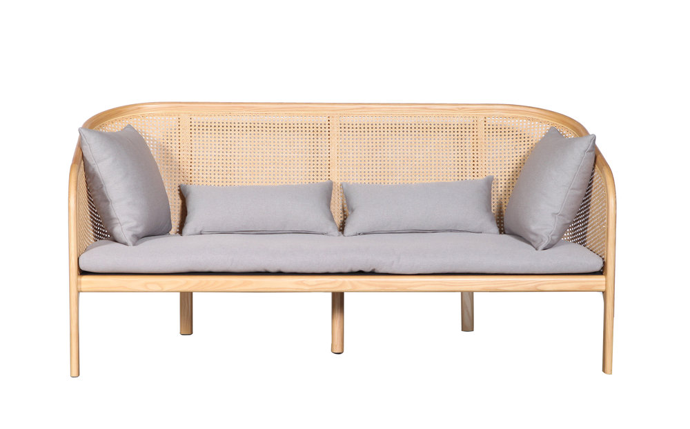 4 |  Cane Sofa by Curio  from  Clickon Furniture .