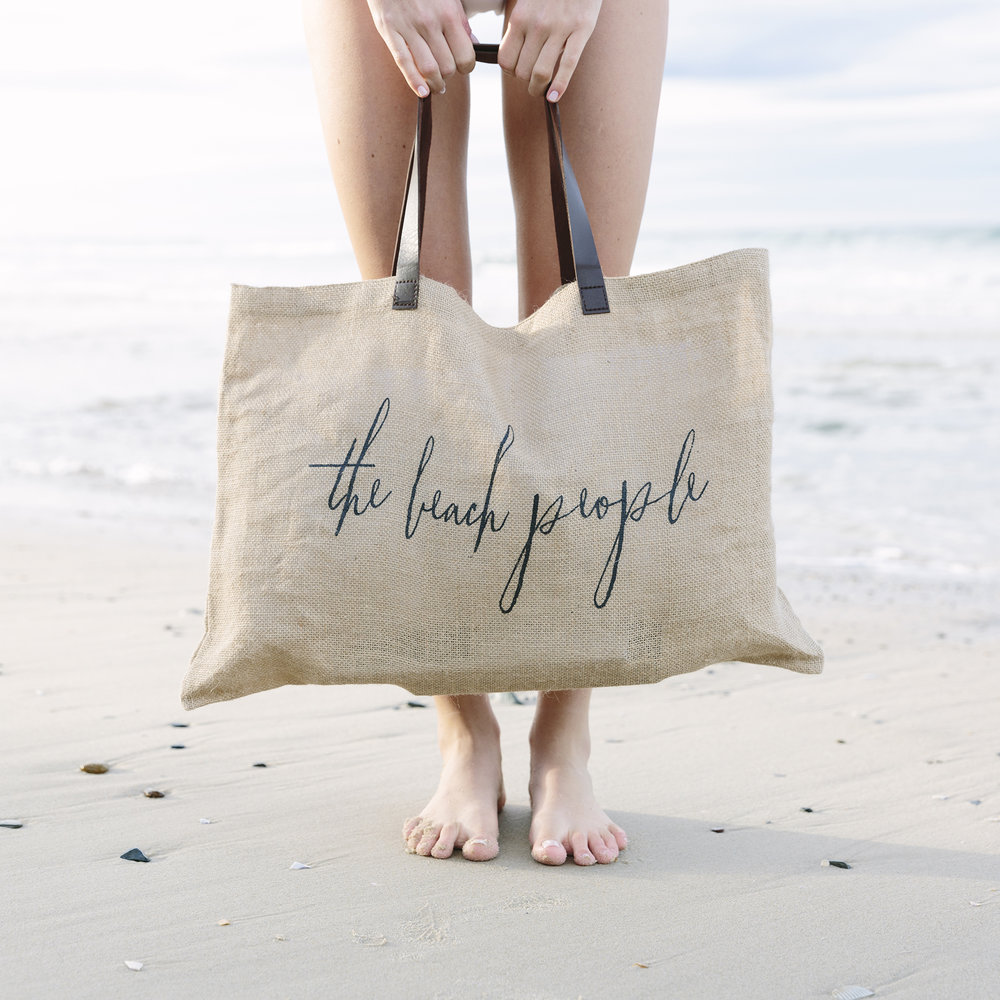 The essential beach bag by  The Beach People .