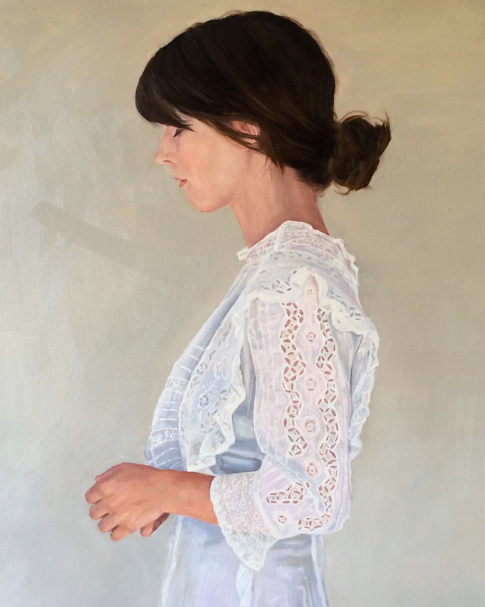 Shura , Oil on Linen by  Holly Harper .