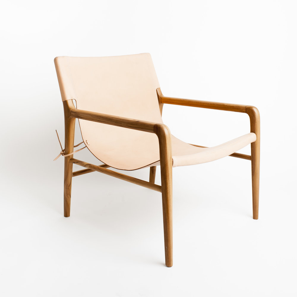 1 |   Smith Armchair  in Blush from  Barnaby Lane .