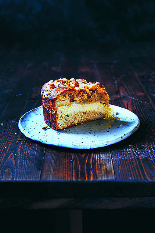 Hazelnut, Apple and Ricotta Cake from  Ostro  by Julia Busuttil Nishimura.