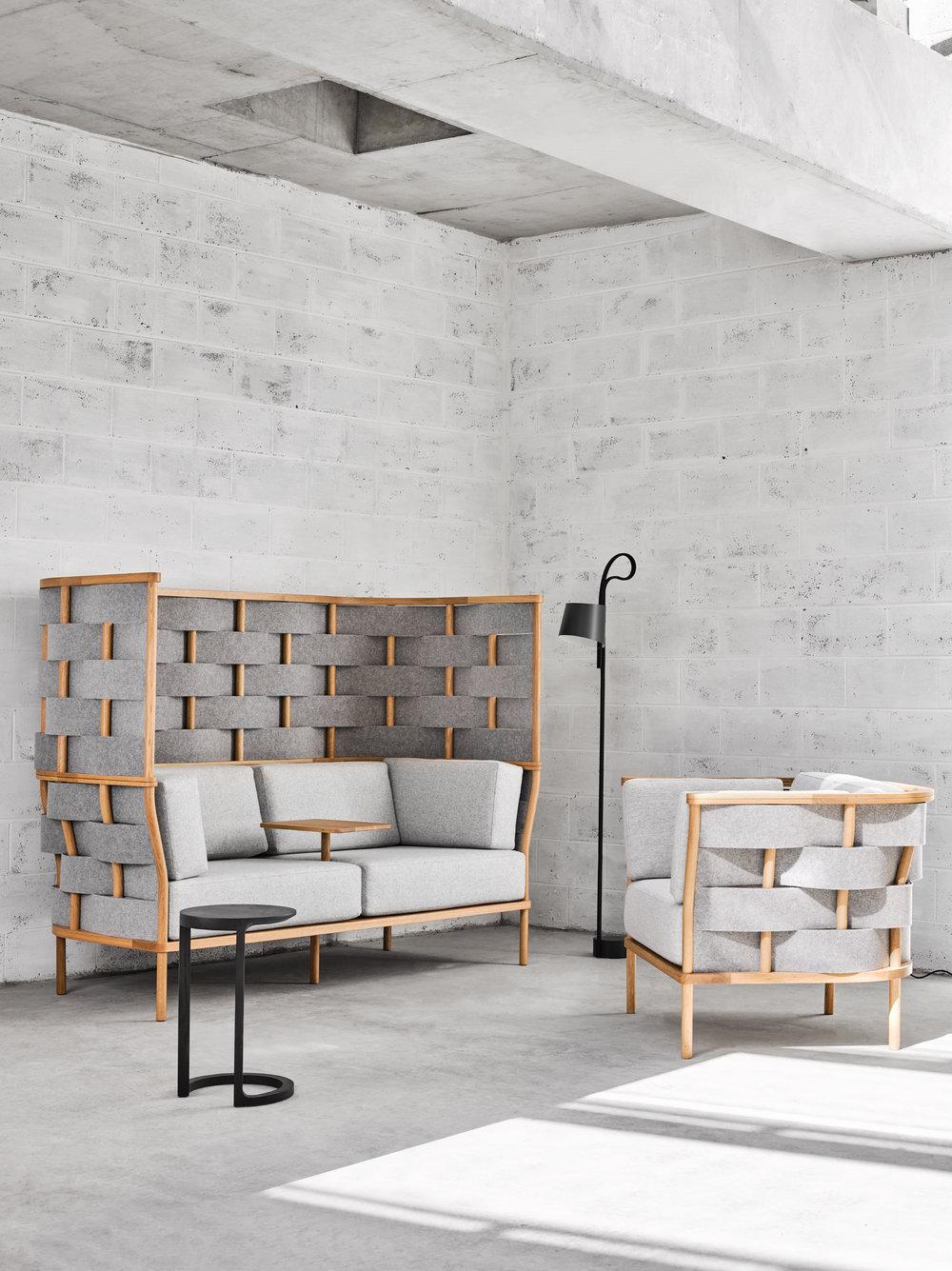 Bower designed by Adam Goodrum for  NAU . Styling - Marsha Golemac, photo - Dan Hocking.