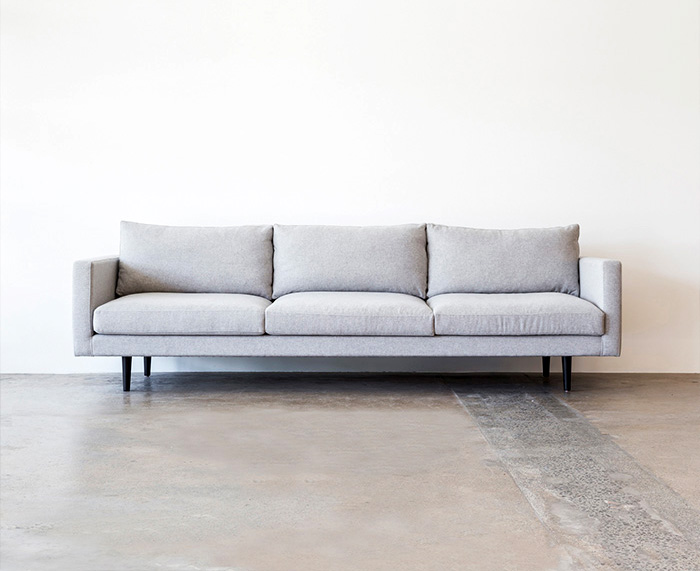 Charlie Sofa  designed by Shelley Mason for   Project 82  .