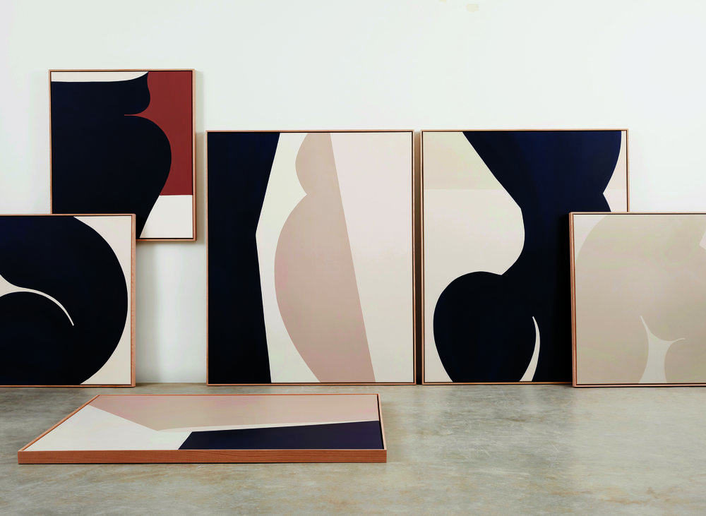 Caroline Walls'   Maybe She  exhibition held at Saint Cloche in Sydney.