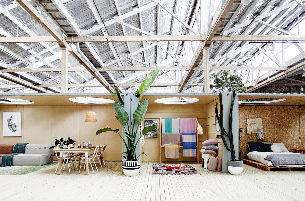 The wonderful   Koskela   showroom in Rosebery, Sydney.