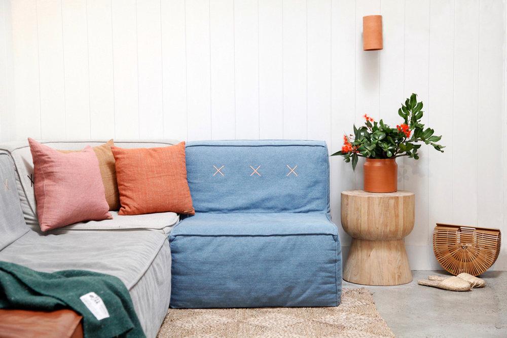 The  Quadrant Sofa  from   Koskela  .