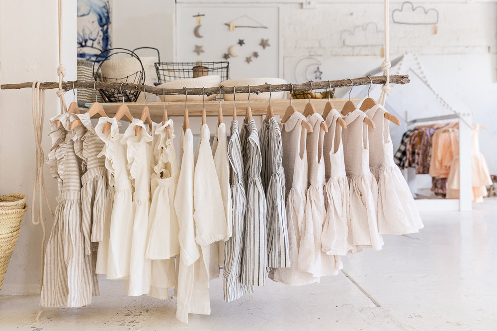 Natalie Walton invited some of her favourite childrenswear brands to participate in the pop-up. Photo - Jacqui Turk.