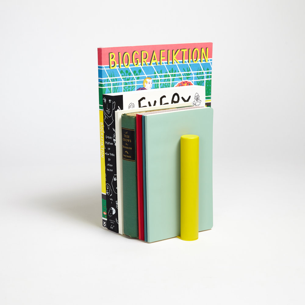 The colourful Slim Bookend by Good Thing NY from  Gingerfinch.