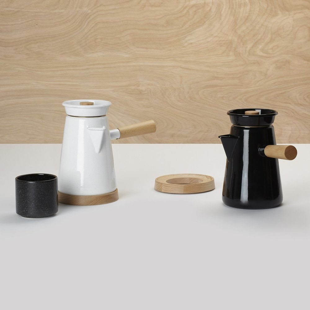 Cowboy Coffee Kettle by Umbra Shift available from  Gingerfinch.
