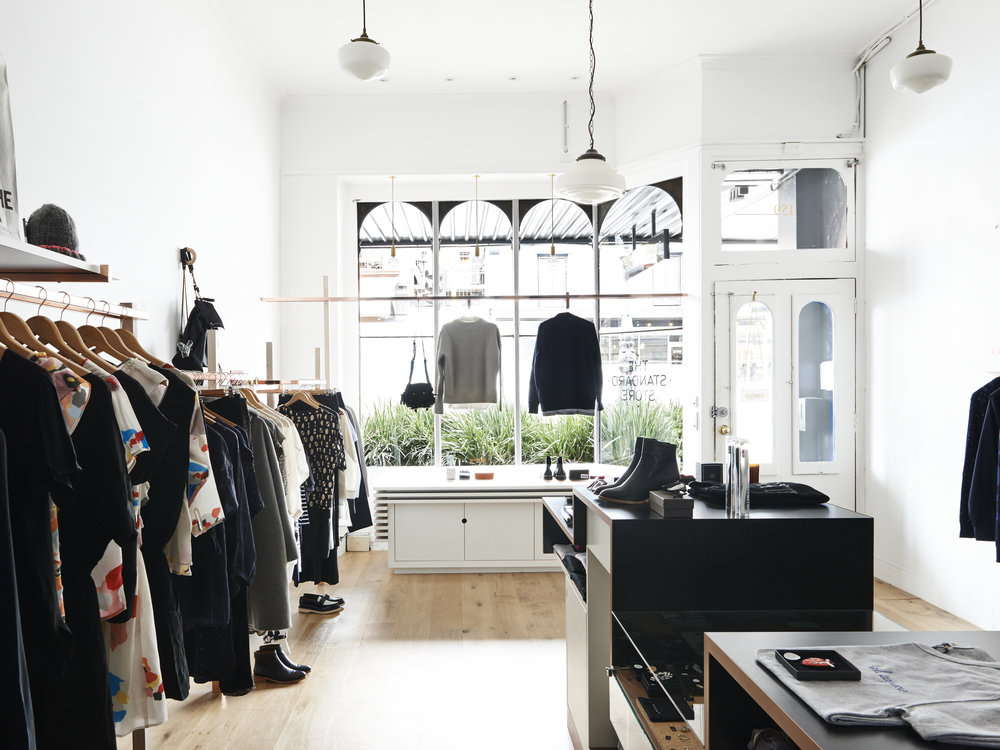 Inside  The Standard Store  in Fitzroy, Melbourne.