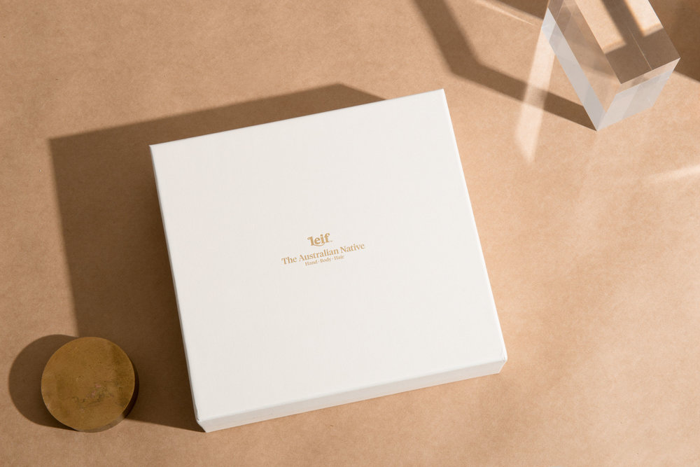 Leif  branding and packaging - in all its simple and beautifully designed glory.