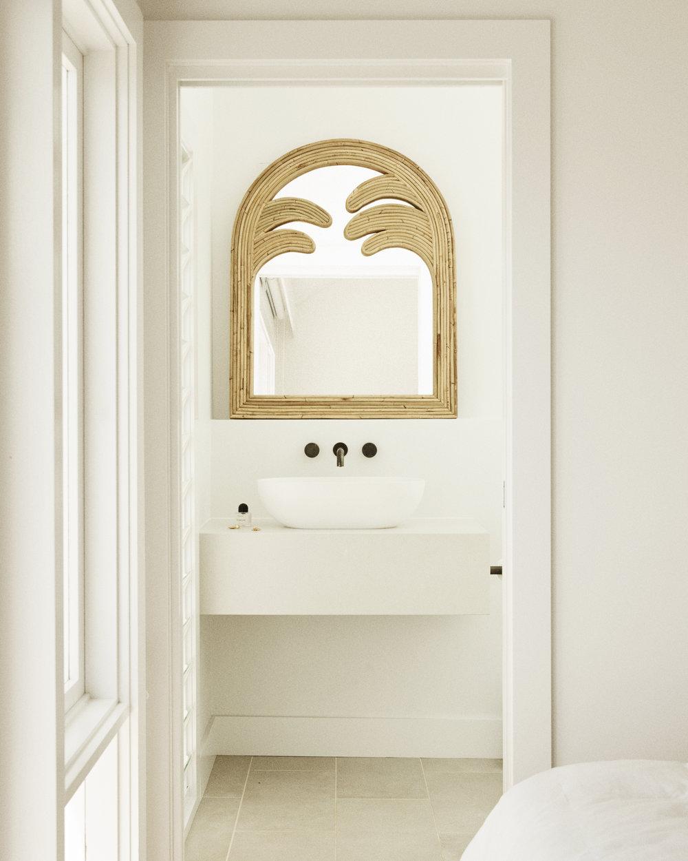 The  Gabriela  mirror. Photo –  Dave Wheeler . Styling –  Sarah Ellison .
