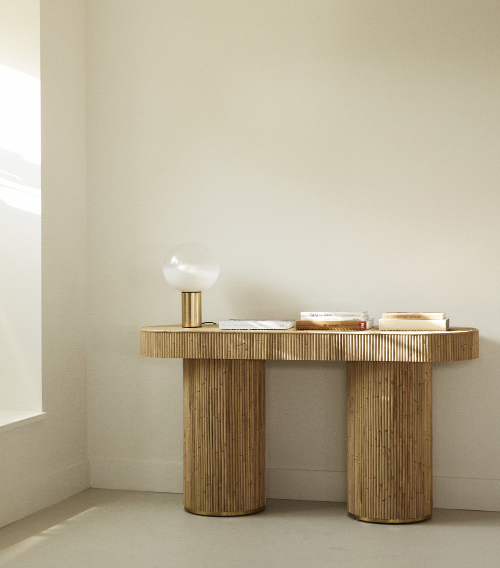 The  Halston  table. Photo –  Dave Wheeler . Styling –  Sarah Ellison .
