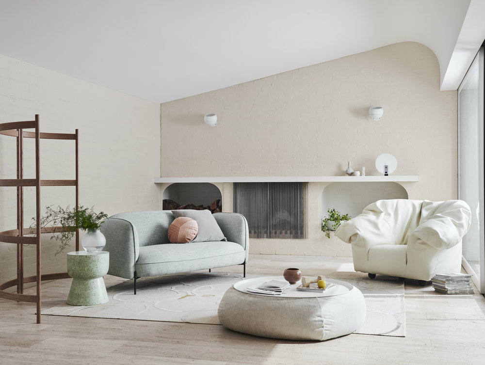 Dulux  Summer Colour Trends 2019 - Wholeself Palette in Dulux Ecru. Styling - Bree Leech. Photo - Lisa Cohen.