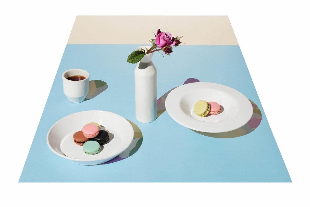 Art direction by  Evil O Studio  for ceramic brand Anekka. Photographer -  Daniel Shipp .