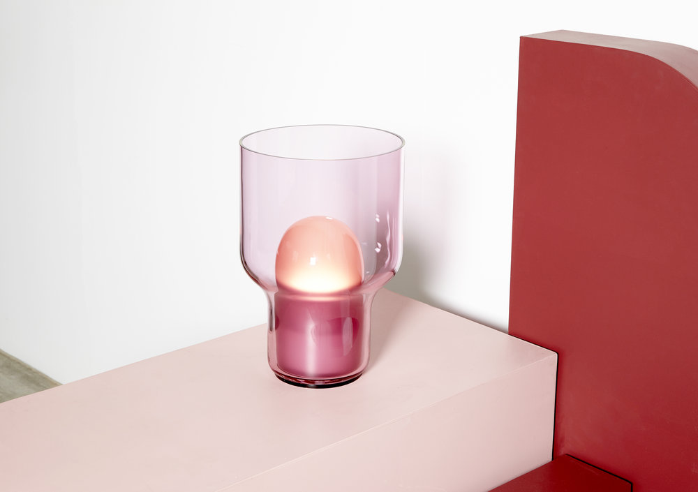 SO LIGHT - a limited edition hand-blown glass lamp designed by  SKEEHAN Studio .