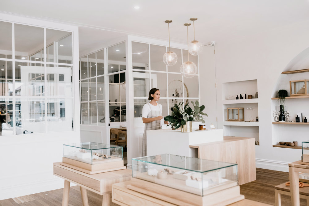 """""""Our clients travel from all over, and we have created a destination which embodies the experience that we try to create – one that is relaxed, casual but refined and ultimately beautiful,"""" says Natalie Marie Fitch."""
