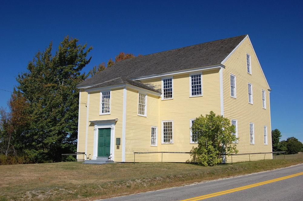 Alna Meeting House,  ca.  1789