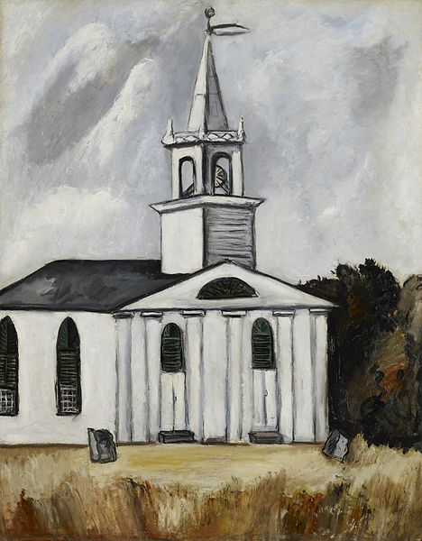 Church at Head Tide, Maine, Marsden Hartley, 1938