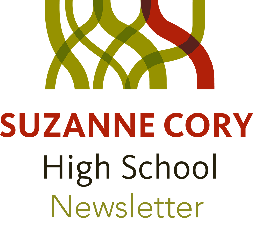 Suzanne Cory High School Newsletter