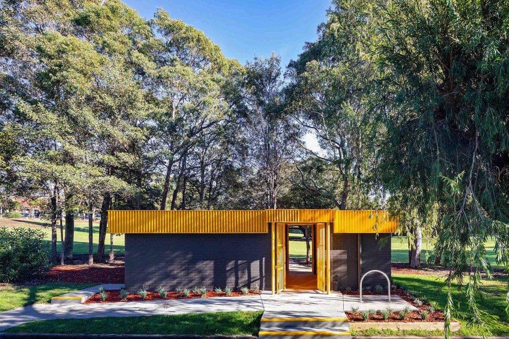 War Memorial Park Amenities -
