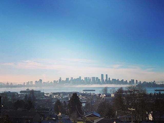Not a bad view from the North today. #vancity #vancouver #northshore