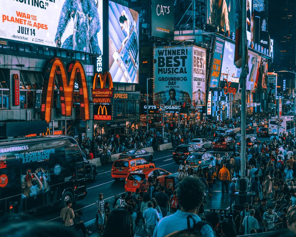 A typical city scene - I think this helps to explain rising levels of anxiety.. Photo by  Tom Ritson on  Unsplash