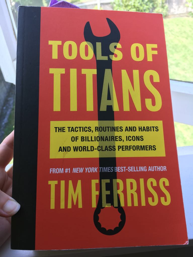 The amount of valuable wisdom, advice and resources contained in this book is incredible. Thank you, Tim Ferriss, and all of your podcast guests!