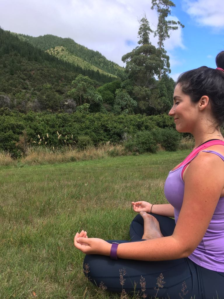 Mindfulness Meditation + Nature = 2 of my favourite things :)
