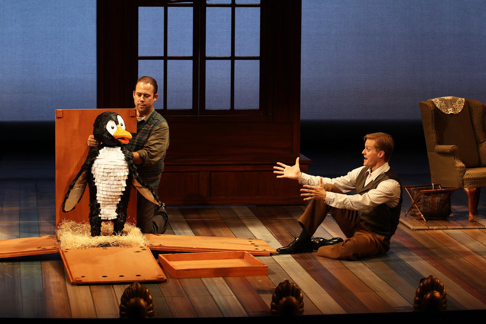 Over 30 puppets were created for Mr. Popper's Penguins @ South Coast Repertory, Costa Mesa