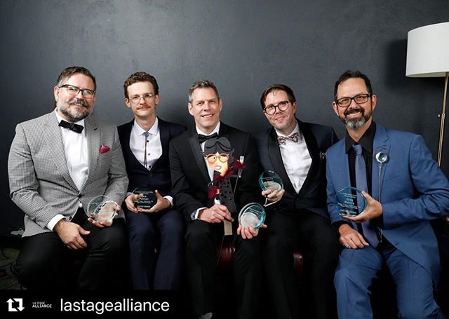 "#Repost @lastagealliance ・・・ Today's featured company is @rogue_artists who open their Valentine's Van this weekend! ""See the World's Greatest Valentine Writer as they create a personal valentine for YOU right before your very eyes!"" Featured Image: Ovation Honors Winners for Puppet Design with @rogue_artists and @EastWestPlayers ⠀⠀⠀⠀⠀⠀⠀⠀⠀ Photo Credit: @captureimaging"