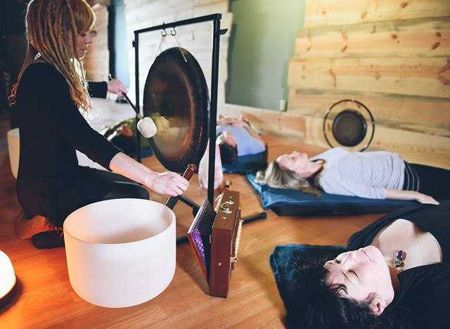 Sound Healing with acupuncture tonight from 7pm-8pm.  Come and relax!