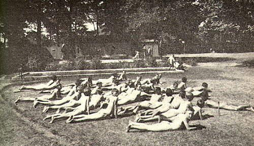 Heliotherapy Clinic for English children in the Swiss Alps in the early 1900's