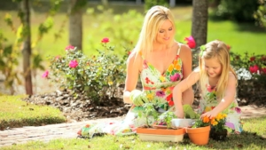Gardening is a wonderful way to spend more time outside.
