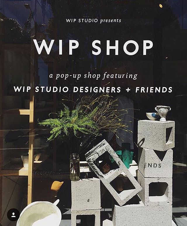It's that time of year! Visit us at WIP Shop Christmas Edition December 6 - 20 in our new home on Devonshire & Crown St Surry Hills. Join us for a drop from @collector_wines from 6pm on the 6th and browse our locally made fashion, jewellery, homewares & art ✨