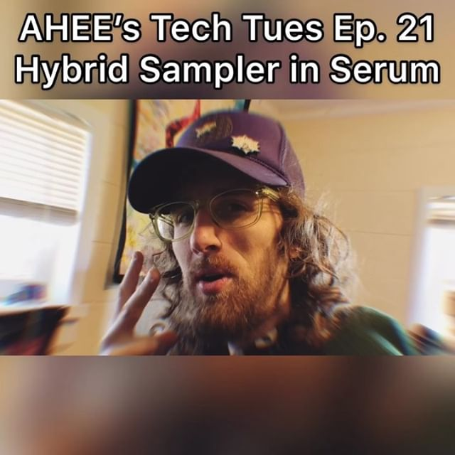 ⚡️Tech Tues Ep. 21 ⚡️ Use Serum for sound design? Check out this Hybrid Sampler technique. . . . #ableton #abletonlive #abletonpush2 #abletonpush #tutorial #futurebass #futurebassmusic #housemusic #dubstep #melodicdubstep #marshmello #trapmusic #skrillex #sanholo #virtualriot