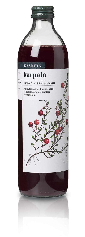 100% cranberry juice, 0,5l