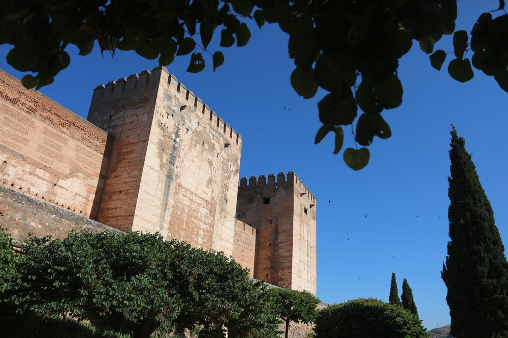 Alcazaba:The Alhambra, Granada, Spain