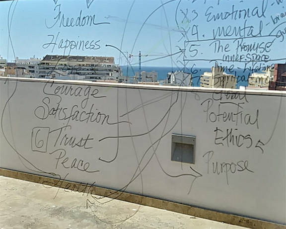 Glass walls as whiteboards! Redefining the meaning of transparency!
