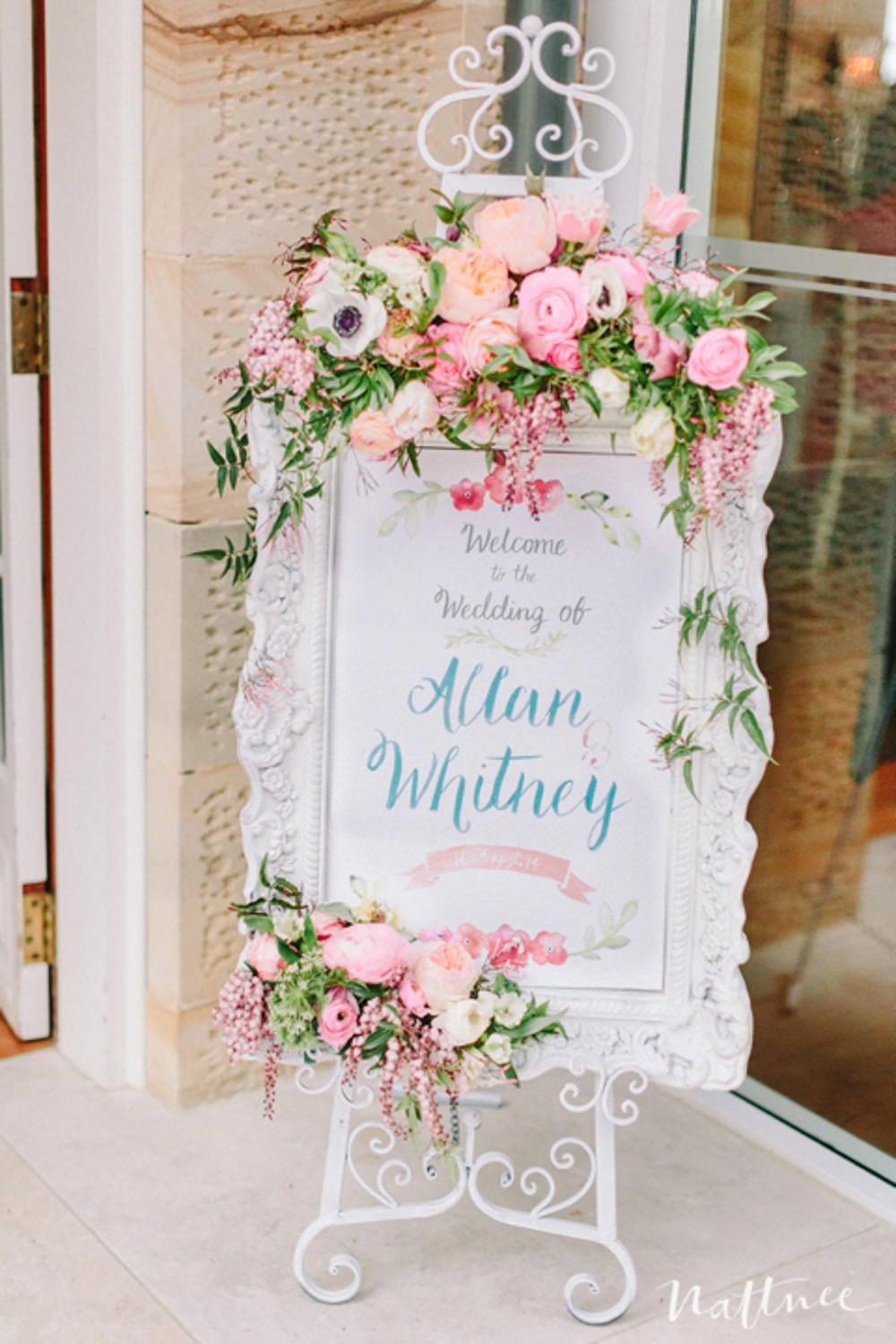 Wedding easel & Frames for Welcome signs