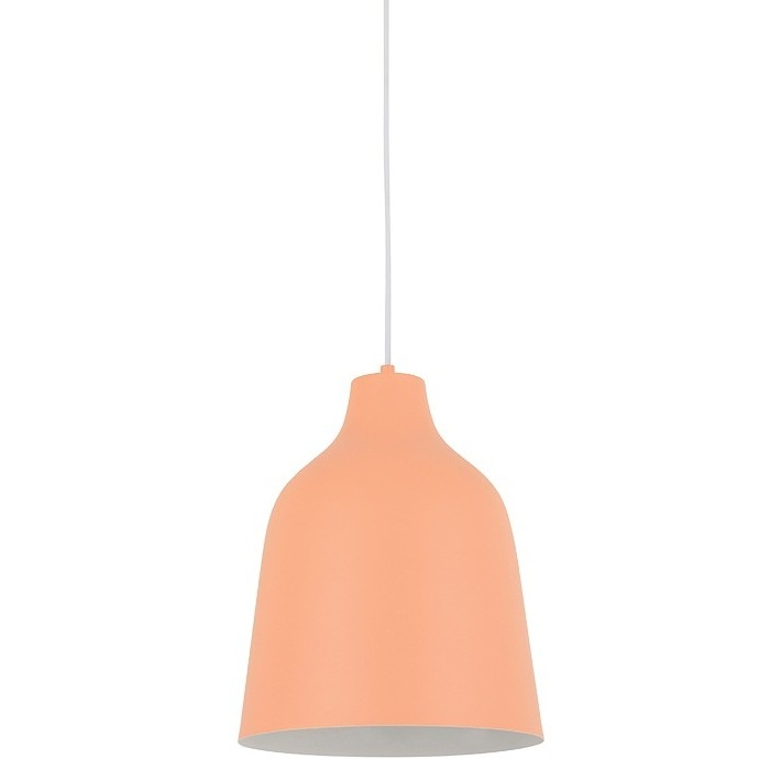 Misty Large Pendant in Coral by Beacon