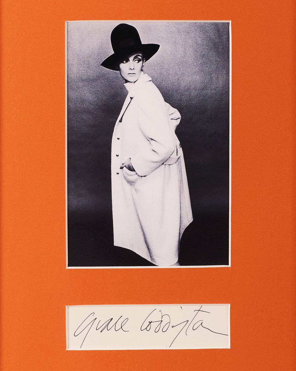 Grace Coddington, photo: Terence Donovan; Courtesy Christopher Niquet